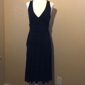 Nine West black dress size 2. Pre-owned.